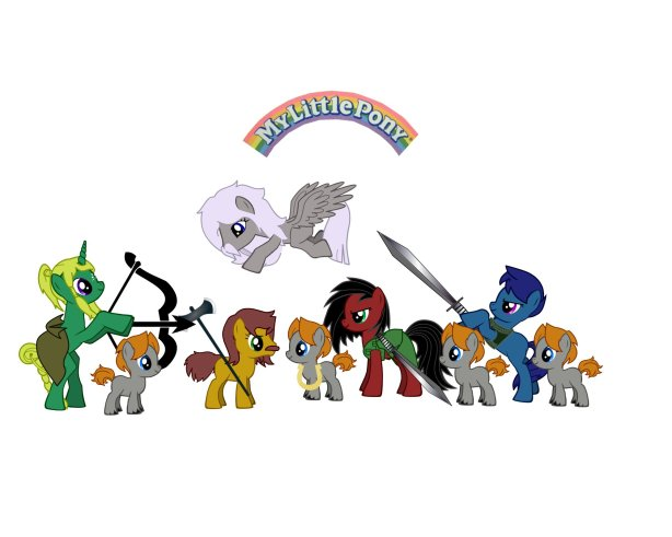 LoTR ponies